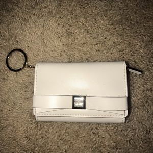 Authentic Kate Spade bow tie wallet with key ring